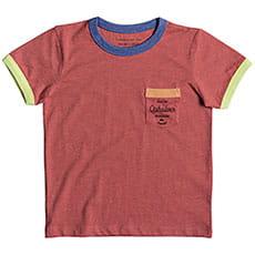Футболка детская QUIKSILVER Sandbonesboy Mineral Red