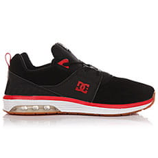 Кеды низкие DC Heathrow Ia Se Black/Athletic Red