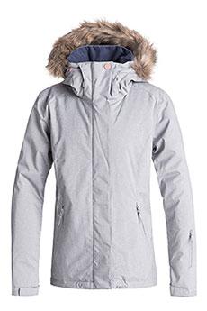 Куртка сноубордическая женская Roxy Jet Ski Solid Heather Grey