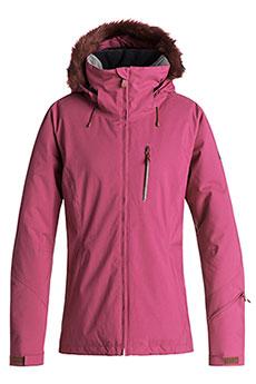 Куртка сноубордическая женская Roxy Down T Line Beet Red
