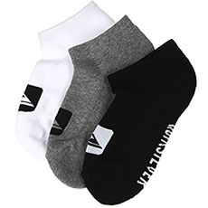 Комплект носков QUIKSILVER 3 ankle pack youth Assorted