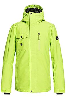 Куртка сноубордическая зимняя QUIKSILVER Mission Soli Lime Green