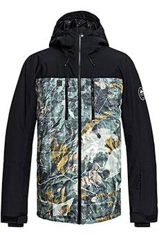 Куртка сноубордическая QUIKSILVER Mission Grape Leaf Tanenbaum