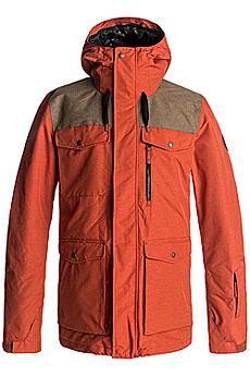 Куртка сноубордическая Quiksilver Raft Ketchup Red