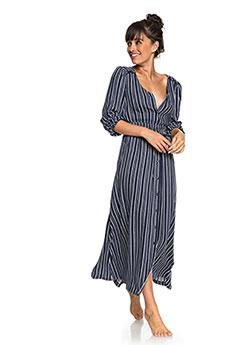 Платье женское Roxy Subway Atmosph Dress Blues Vertical