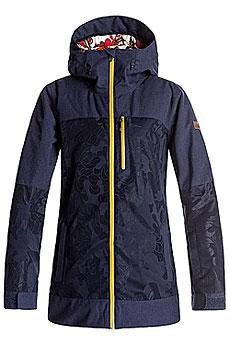 Куртка сноубордическая женская женская Roxy Stormfall Peacoat