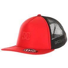 Бейсболка с сеткой DC Greet Up Racing Red