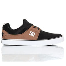 Кеды низкие DC Heathrow Vulc Black/Brown/Black