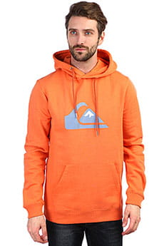 Толстовка кенгуру QUIKSILVER Big Logo Hood Flamingo