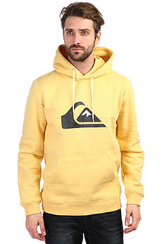 Толстовка кенгуру QUIKSILVER Big Logo Hood Rattan Heather