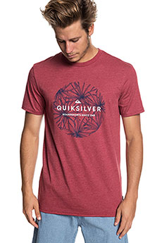 Футболка QUIKSILVER Classicbobss Brick Red Heather