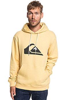 Толстовка кенгуру QUIKSILVER Big Logo Hood Rattan Heather