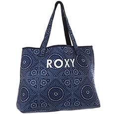 Сумка Roxy All Things Prt J Tote Med Blue Shibori Nig