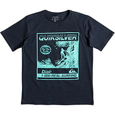 Футболка QUIKSILVER Templeofssyouth Blue Nights