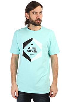 Футболка QUIKSILVER Hexalogoss Aqua Splash