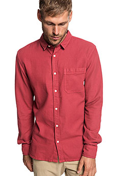 Рубашка QUIKSILVER Timeboxls Brick Red