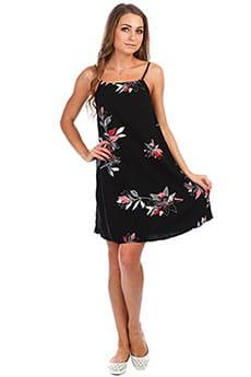 Платье женское Roxy All About Shado Anthracite Flowee
