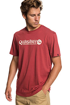 Футболка QUIKSILVER Arttickless Brick Red