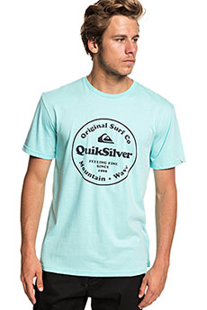 Футболка QUIKSILVER Scrtingredienss Aqua Splash