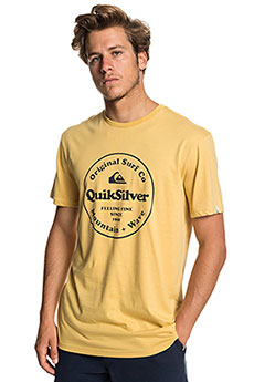 Футболка QUIKSILVER Scrtingredienss Rattan