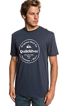 Футболка QUIKSILVER Scrtingredienss Blue Nights
