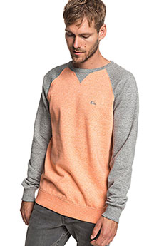 Толстовка свитшот QUIKSILVER Everydaycrew Flamingo Heather