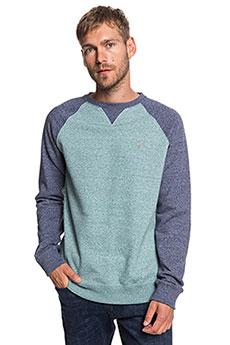 Толстовка свитшот QUIKSILVER Everydaycrew Stormy Sea Heather