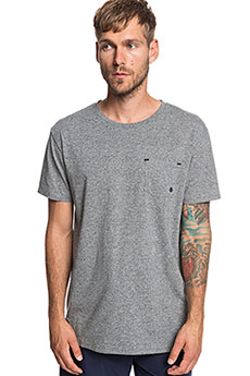 Футболка QUIKSILVER Adapt Sl Medium Grey Heather