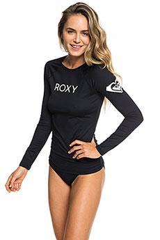 Гидрофутболка женская Roxy Rx Su Ls Lyc Anthracite