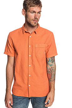 Рубашка QUIKSILVER Timeboxss Orange Rust