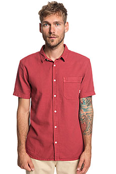 Рубашка QUIKSILVER Timeboxss Brick Red