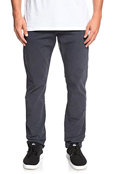 Штаны прямые QUIKSILVER Krandy5pckt Blue Nights