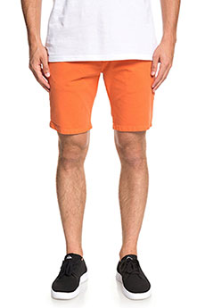 Шорты классические QUIKSILVER Krandystshrt Orange Rust