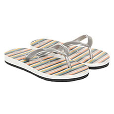 Вьетнамки детские Roxy Tw Bamboo Iii Multi Grey Stripe