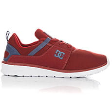 Кроссовки DC Heathrow Dark Red