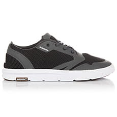 Кеды низкие QUIKSILVER Amphibian Plus Black/Grey/White-8652-100