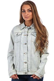 Куртка джинсовая женская Roxy Midnight Drive Bleached