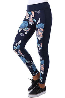 Леггинсы женские женские Roxy Spy Game Pant 3 Dress s Full Flo
