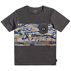 Футболка детская QUIKSILVER Feelinfinpktyth Charcoal Heather
