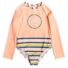 Купальник детский Roxy Gi Le Go Ls On Salmon Candy Stripes