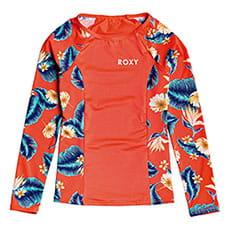 Гидрофутболка детская Roxy Fashion Lycr Coral N Tropical