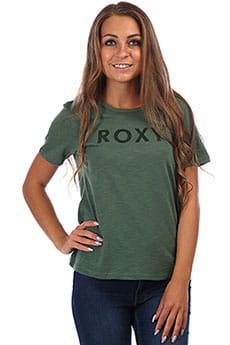 Футболка женская Roxy Red Sunset Ss A Duck Green