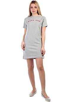 Платье-свитшот ROXY с коротким рукавом In Your Eyes