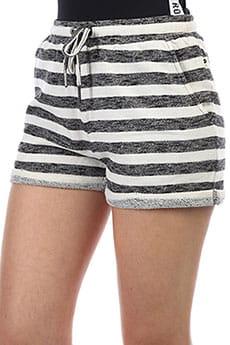 Шорты классические женские Roxy Trippinshortstr Black Stripe