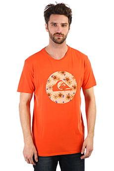Футболка QUIKSILVER Quikcircledss Orange Rust