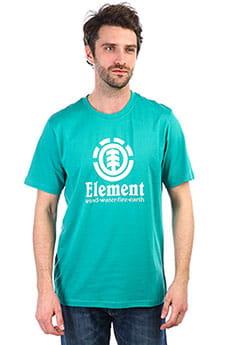 Мужская футболка Element Vertical Dynasty Green