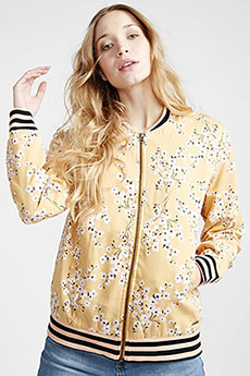 Бомбер женский Billabong Retro Bloom Golden Hour