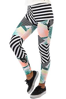 Леггинсы женские Roxy Po Su Legging Tblack Crazy Victori