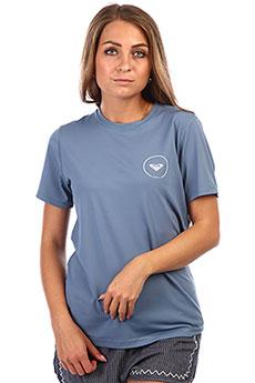 Гидрофутболка женская Roxy En Wa Ss Ly Blue Mirage