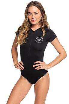 Женский купальник с коротким рукавом и молнией на груди Essentials Roxy